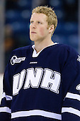 Damon Kipp (UNH - 4) - The visiting University of New Hampshire Wildcats defeated the University of Massachusetts-Lowell River Hawks 3-0 on Thursday, December 2, 2010, at Tsongas Arena in Lowell, Massachusetts.