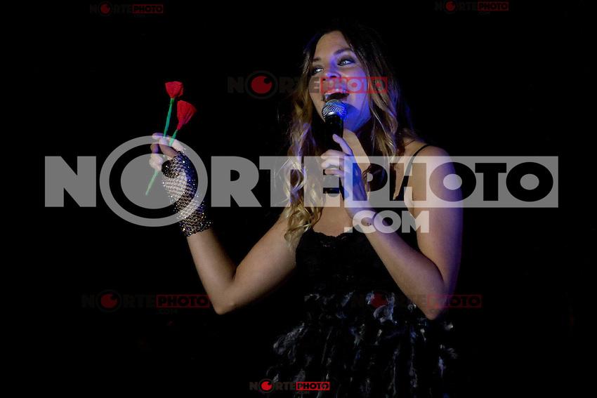 08.09.2012. Concert of &acute;La Oreja de Van Gogh&acute; in Alcorcon, Madrid. (Alterphotos/Marta Gonzalez) /NortePhoto.com<br /> <br /> **CREDITO*OBLIGATORIO** *No*Venta*A*Terceros*<br /> *No*Sale*So*third* ***No*Se*Permite*Hacer Archivo***No*Sale*So*third