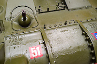 M4 Sherman Tank, front view - Aug 2012.