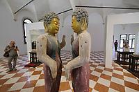 57th Art Biennale in Venice - Viva Arte Viva.<br /> Isola di San Giorgio Maggiore, Basilica di San Giorgio Maggiore.<br /> Michelangelo Pistoletto: The Time of Judgement, 2009-2017