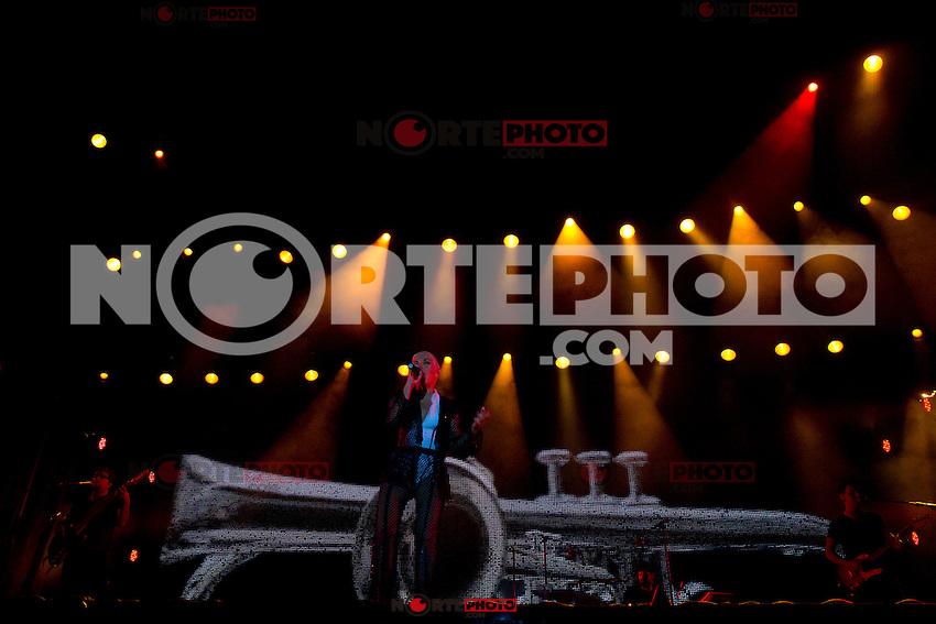 14.09.2012. Concert of &acute;Ana Torroja&acute; in Mostoles, Madrid. In the image Ana Torroja (Alterphotos/Marta Gonzalez) /NortePhoto.com<br /> <br /> **CREDITO*OBLIGATORIO** *No*Venta*A*Terceros*<br /> *No*Sale*So*third*...