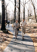 Camp David, MD - (FILE) -- United States President Ronald Reagan, right, confers with Prime Minister Margaret Thatcher of the United Kingdom, left, at Camp David near Thurmont, Maryland on Saturday, December 22, 1984..Credit: Mary Anne Fackelman-White House via CNP