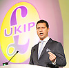 UKIP Annual Party Conference <br /> 26th September 2014 <br /> at Doncaster Racecourse, Great Britain <br /> <br /> <br /> <br /> Steven Woolfe MEP<br /> <br /> <br /> <br /> Photograph by Elliott Franks <br /> Image licensed to Elliott Franks Photography Services