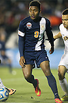12 December 2014: Virginia's Darius Madison. The University of Virginia Cavaliers played the University of Maryland Baltimore County Retrievers at WakeMed Stadium in Cary, North Carolina in a 2014 NCAA Division I Men's College Cup semifinal match. Virginia won the game 1-0.