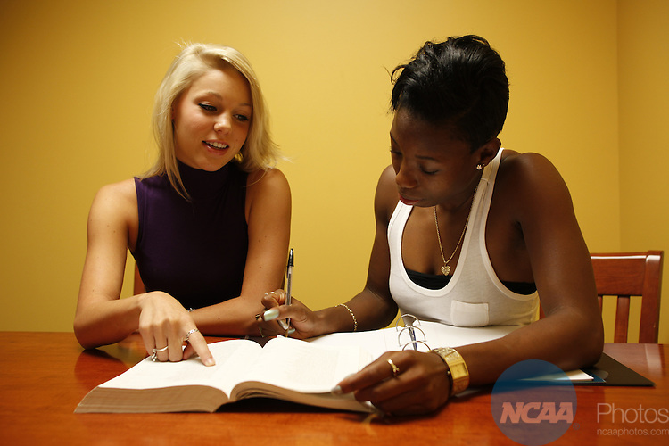 28 JULY 2010:  Student life at Baylor University for NCAA Champion Magazine.  Jamie Schwaberow/NCAA Photos