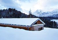 Contemporary Mountain Cabin, France