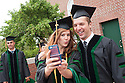 Krista Buckley, left, Griffin Boll. Commencement class of 2013.