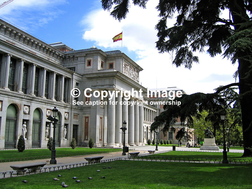 The Prado Museum and Art Gallery, Madrid, Spain. Ref: 200504200556...Copyright Image from Victor Patterson, 54 Dorchester Park, Belfast, UK, BT9 6RJ..Tel: +44 28 9066 1296.Mob: +44 7802 353836.Voicemail +44 20 8816 7153.Skype: victorpattersonbelfast.Email: victorpatterson@mac.com.Email: victorpatterson@ireland.com (back-up)..IMPORTANT: If you wish to use this image or any other of my images please go to www.victorpatterson.com and click on the Terms & Conditions. Then contact me by email or phone with the reference number(s) of the image(s) concerned.