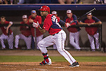 10 March 2014: Washington Nationals outfielder Brian Goodwin in action during a Spring Training game against the Houston Astros at Space Coast Stadium in Viera, Florida. The Astros defeated the Nationals 7-4 in Grapefruit League play. Mandatory Credit: Ed Wolfstein Photo *** RAW (NEF) Image File Available ***