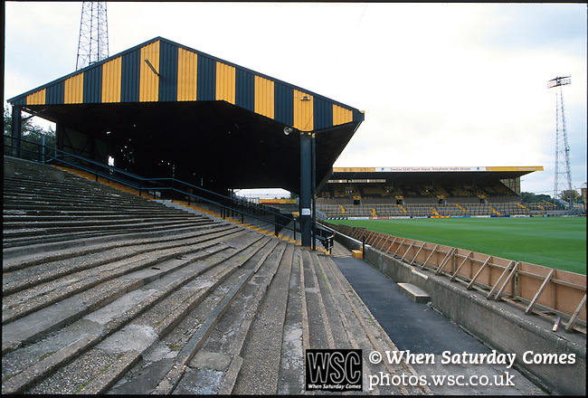 Boothferry Park, former home of Hull City FC. Photo by Tony Davis