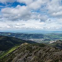 View towards Zakopane, Tatra mountains, Poland