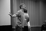 2013 May 26: Head coach John Danowski of the Duke Blue Devils during a team meeting at the Sonesta Hotel in Philadelphia, PA.