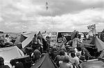 Free festival at Stonehenge Summer Solstice 1976. ..