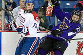 Joe Caveney (Lowell - 13), Michael Dorr (Mankato - 23) - The visiting Minnesota State University-Mankato Mavericks defeated the University of Massachusetts-Lowell River Hawks 3-2 on Saturday, November 27, 2010, at Tsongas Arena in Lowell, Massachusetts.
