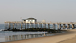Fishing Pier in Ocean Grove,  New Jersey. Photo By Bill Denver/EQUI-PHOTO