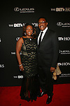 Linda Reese Mathis and Judge Mathis Attend BET Honors 2014 Honoring The Queen of Soul, Aretha Franklin, Motown Records Founder and Creator of the MOTOWN THE MUSICAL, Berry Gordy, American Express CEO & Chairman, Ken Chenault, Visual Artist Carrie Mae Weems and Entertainment Trailblazer Ice Cube. Hosted by Actor and Comedian, Wayne Brady Held at Warner Theater in Washington, D.C.