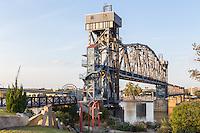 The Junction Bridge on the Arkansas River Trail in Little Rock, Arkansas.