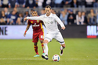 Kansas City, Kansas - April 2, 2016: Real Salt Lake defeated Sporting Kansas City 2-1 at Children's Mercy Park.