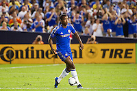 Nathaniel Chalobah (45) of Chelsea FC. Chelsea FC and Paris Saint-Germain played to a 1-1 tie during a 2012 Herbalife World Football Challenge match at Yankee Stadium in New York, NY, on July 22, 2012.