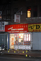 Donut Shop Shooting in Flatbush, Brooklyn leaving 1 dead and two wounded