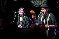 Eve and the Exiles perform at the Ponderosa Stomp in New Orleans on October 3, 2015.