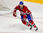 17 October 2009: Montreal Canadiens defenseman Jaroslav Spacek in first period action against the Ottawa Senators at the Bell Centre in Montreal, Quebec, Canada. The Senators defeated the Canadiens 3-1. Mandatory Credit: Ed Wolfstein Photo