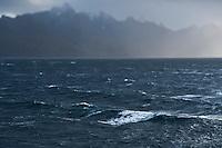 Stormy seas of Hadselfjord, Vesteralen, Norway