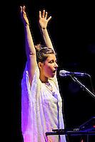AUG 21 GABI performing at David Byrne's Meltdown Festival