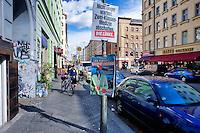 Berlino 17 Settembre 2013<br /> Un manifesto elettorale nel  quartiere Kreuzberg<br /> An election poster in the Kreuzberg district