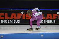 SCHAATSEN: HEERENVEEN: IJsstadion Thialf 05-02-2016, Topsporttraining en wedstrijd, Shani Davis (USA), ©foto Martin de Jong
