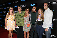 LOS ANGELES, CA - SEPTEMBER 28: Beau Bridges, Wendy Bridges, Jordan Bridges at the premiere of IMAX's 'Voyage Of Time: The IMAX Experience' at California Science Center on September 28, 2016 in Los Angeles, California. Credit: David Edwards/MediaPunch