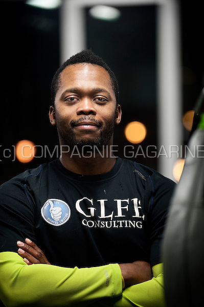 """Guelor Luabeya, founder of GLFE Consulting, """"Good Life Fitness Emotion"""" (Belgium, 16/12/2012)"""