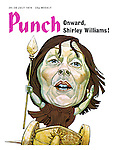 Punch cover 24 - 30 July 1974. Onward Shirley Williams