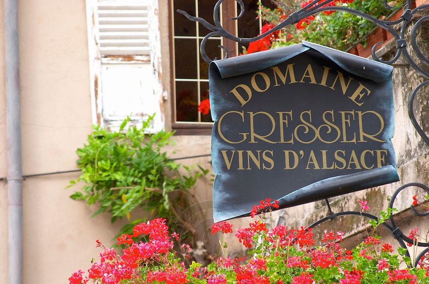 domaine remy gresser sign andlau alsace france
