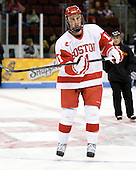 Patrick MacGregor (BU - 11) - The Boston University Terriers defeated the visiting University of Toronto Varsity Blues 9-3 on Saturday, October 2, 2010, at Agganis Arena in Boston, MA.