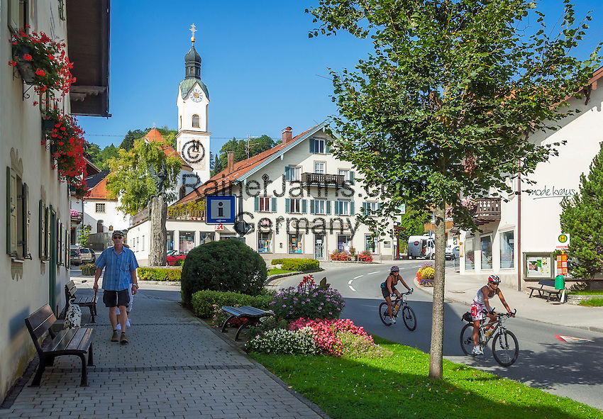 Bad Kohlgrub Germany  City new picture : Germany, Upper Bavaria, Bad Kohlgrub: with parish church St. Martin ...