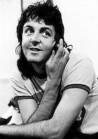 Paul McCartney pictured in 1973. Credit: Ian Dickson/MediaPunch