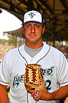 24 June 2008: Vermont Lake Monsters pitcher Ryan DeLaughter. Baseball Card Image for 2008. For in-house use by the Vermont Lake Monsters Only. Editorial or other use of images by other publications or media outlets must secure licensing from the photographer Ed Wolfstein prior to publication, and is based on standards of circulation, and placement in a given publication...Mandatory Credit: Ed Wolfstein.