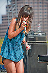 Asobi Seksu at Fun Fun Fun Fest at Auditorium Shores, Austin Texas, November 6, 2011. Asobi Seksu is an American dream pop band based in New York City. Their music draws influence from the shoegazing genre as well, and similarly uses a textured and effects-heavy vocal and guitar sound. The band consists of Yuki Chikudate (vocals, keyboards) and James Hanna (guitar, vocals).