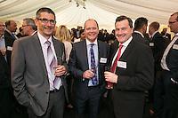 Nigel Wilson, Carl Dickinson both of Yorkshire Bank and artin Tomes of HSKS Greenhalgh