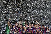 FUSSBALL  CHAMPIONS LEAGUE  FINALE  SAISON 2014/2015   Juventus Turin - FC Barcelona                 06.06.2015 Der FC Barcelona gewinnt die Champions League 2015