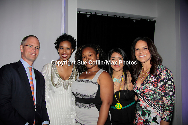 07-24-14 Soledad O'Brien and Brad Raymond Starfish Foundation Gala - NYC