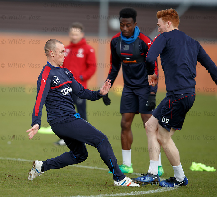 Kenny Miller with Joe Dodoo and David Bates
