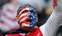 Fan of team USA during the FIFA Women's World Cup at the FIFA Stadium in Moenchengladbach, Germany on July 13th, 2011.