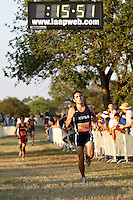 SAN ANTONIO, TX - AUGUST 19, 2009: Ricardo Romo/UTSA Cross Country Classic at Brooks City Base. (Photo by Jeff Huehn)