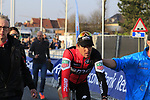 Greg Van Avermaet (BEL) BMC Racing Team wins the 60th edition of the Record Bank E3 Harelbeke 2017, Flanders, Belgium. 24th March 2017.<br /> Picture: Eoin Clarke | Cyclefile<br /> <br /> <br /> All photos usage must carry mandatory copyright credit (&copy; Cyclefile | Eoin Clarke)