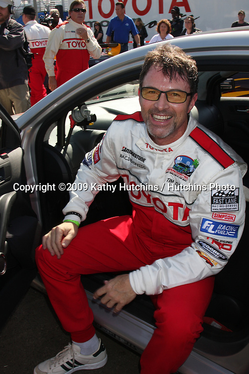 Tim Daly  at  the 33rd Annual Toyota Pro/Celeb Race Press Day at the Grand Prix track in Long Beach, CA on April 7, 2009.©2009 Kathy Hutchins / Hutchins Photo....                .