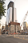 #3 and #4 World Trade Center  under construction