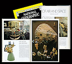 """The July 1978 edition of National Geographic featured at story on The National Air and Space Museum written by astronaut Michael Collins. The lead photo and another resulted from my own time after hours of performing the regular internship duties under the guidance of Robert Gilka, the Director of Photography. Mr. Gilka had simply said, """"Show me what's in the Air and Space Museum,"""" as his way of giving me the assignment."""