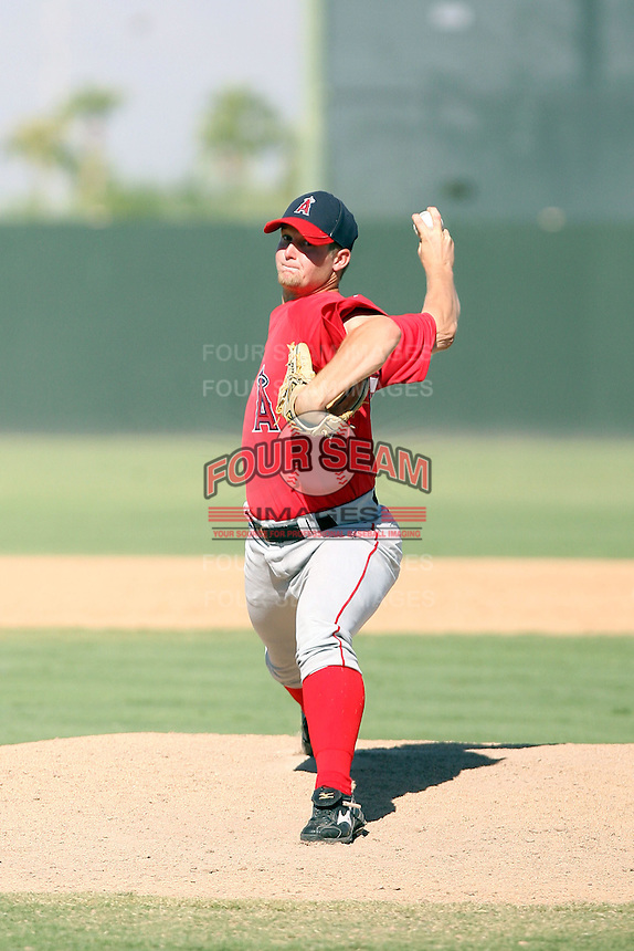 Bryant George - Los Angeles Angels - 2010 Instructional League.Photo by:  Bill Mitchell/Four Seam Images..